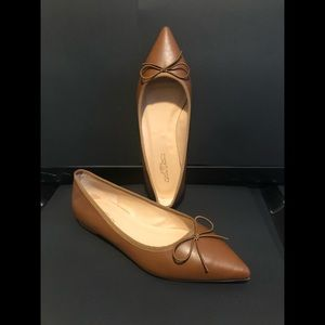 Journee Collection Tan Pointed Toe Flat
